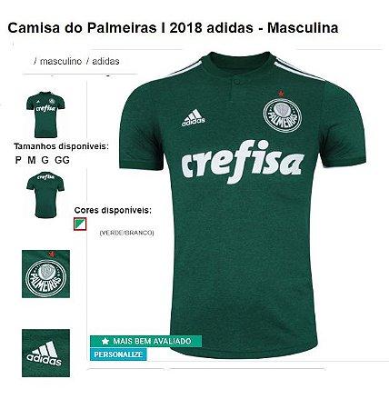 4c82e9412c Camisa Palmeiras Adidas - American star Promoções