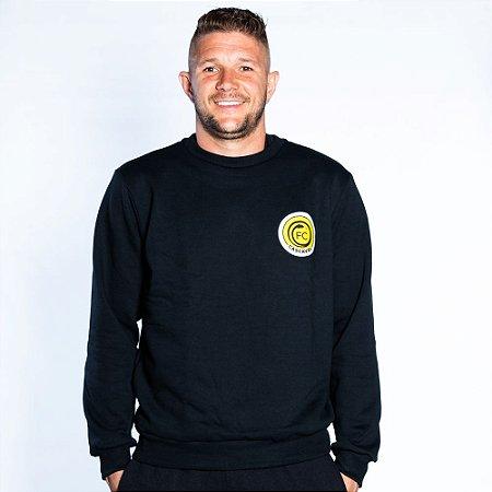 Moletom Sem Capuz Preto - FC Cascavel 2021