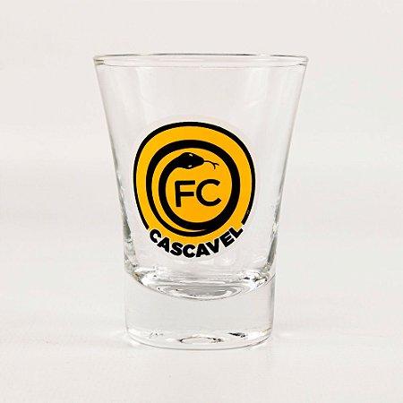 Jogo de Copo Cachaça c/ 6 unidades 10ml - FC Cascavel 2021