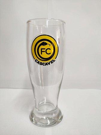 Jogo de Copo Tulipa Cerveja 300ml c/ 6 Unidades - FC Cascavel 2021