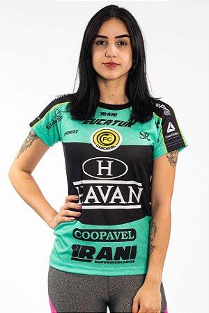 Baby Look Feminina Verde - EDIÇÃO LIMITADA - FC Cascavel 2020