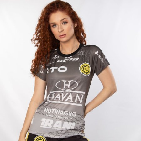 Baby Look Cinza 2021 - FC Cascavel
