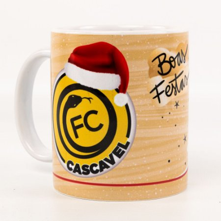 Caneca Personalizada Natal - FC Cascavel