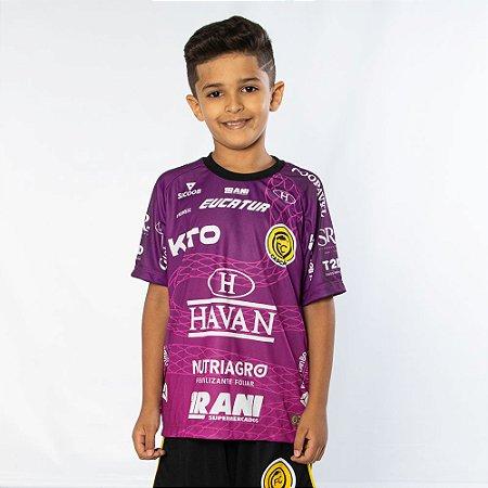Camisa Infantil Roxa - FC Cascavel 2021