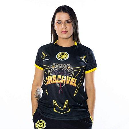 Baby Look Free Fire Preta - FC Cascavel 2021