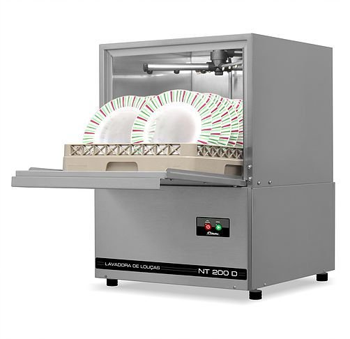 Lavadora de Louças Industrial Netter modelo  NT 210D   (Semi-Nova)