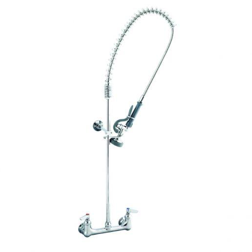 Esguicho / torneira para pré-lavagem de louças com misturador (De Parede)
