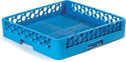 Rack aberto para lavagem de talheres e copos Carlisle Azul