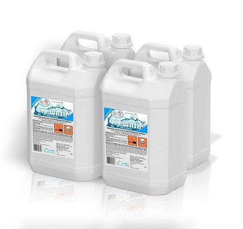 Detergente para Maquina de lavar louças Industrial CX 4X 5 LITROS