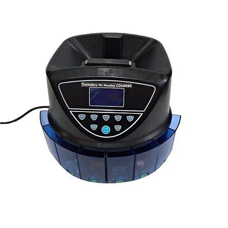 Contadora e Classificadora De Moedas CDM8080 DetectEletronic