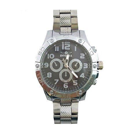 Relógio Masculino Luxo - Relógios De Pulso Prateado