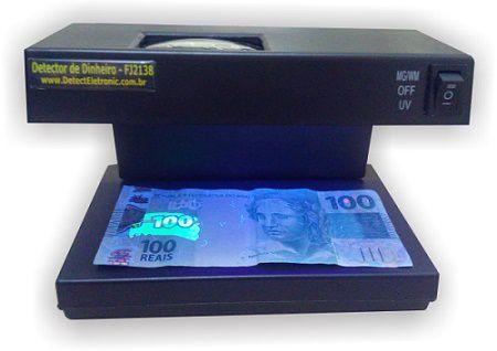 Detector de dinheiro falso | FJ2138 Detect Eletronic - 220v