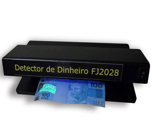 Detector de dinheiro e documento falso 220v | FJ2028 Detect Eletronic