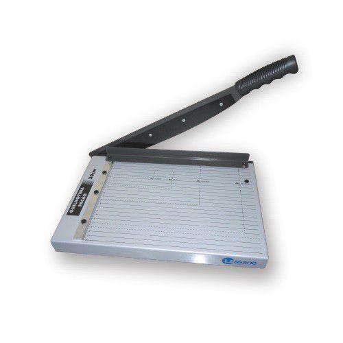 Guilhotina manual para cortar papel | 12 folhas - 30cm