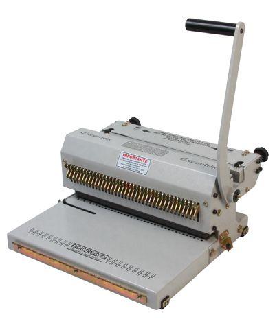 Máquina Encadernadora Wire-o Oficio 3X1 Com Fechamento