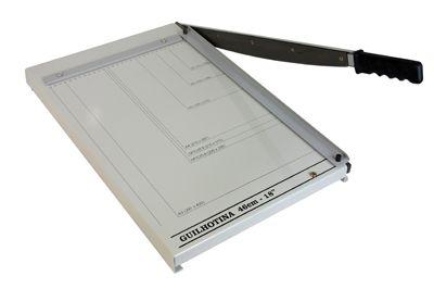 Guilhotina de cortar papel 46cm para 20 folhas Excentrix