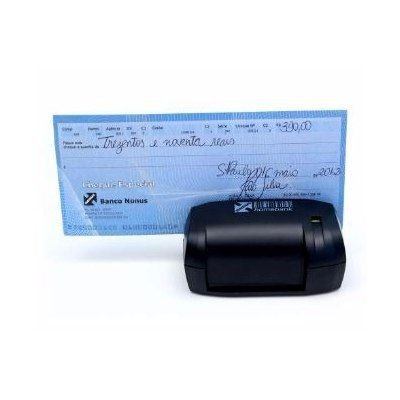Leitor de boletos e cheques Homebank 10 USB