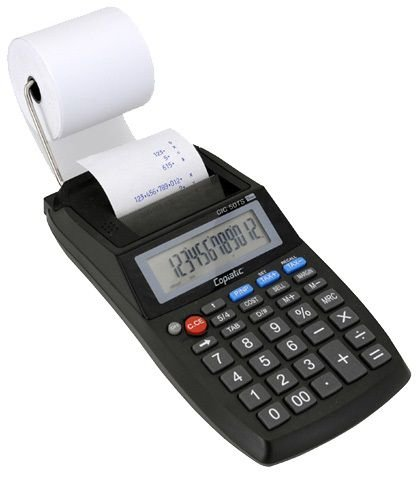 Calculadora de Mesa Eletrônica com impressora, 50TS