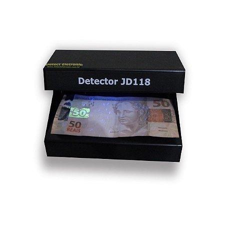 Detector de notas falsas,cartões e  documentos falsos | JD118-Bivolt