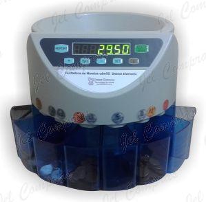 Maquina para contar  Moedas CDM95 Detect Eletronic 220v