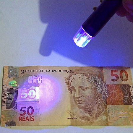 12 Lanternas Detectoras de dinheiro falso Detect Eletronic  Cores Sortidas