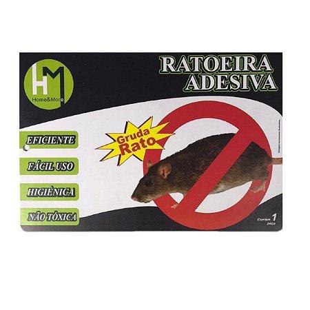 Adesivo Cola Rato Ratoeira Adesiva