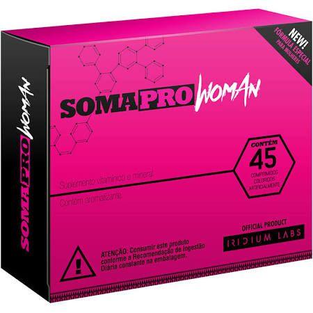 Soma Pro Woman 45cps - Pré Hormonal
