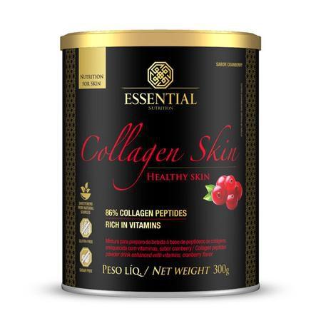 Collagen Skin 300g - Peptídeos Bioativos de Colágeno - Sabor Cranberry