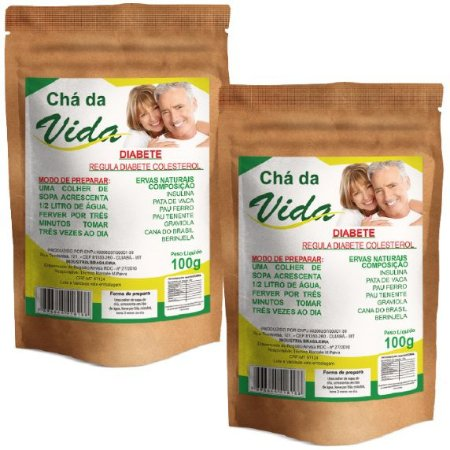 Kit Chá da Vida 100g - 2 unidades