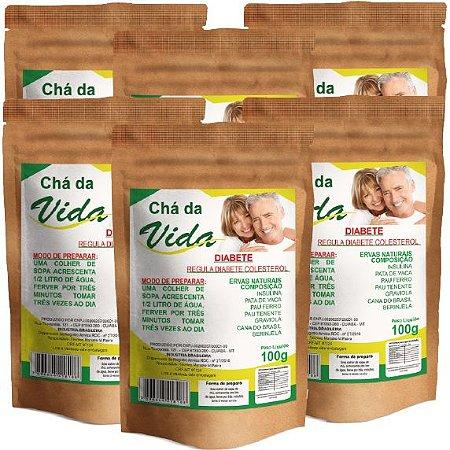 Kit Chá da Vida 100g - 6 unidades