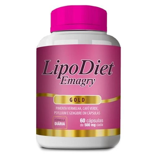 Lipo Diet Emagry Gold 60 cáps