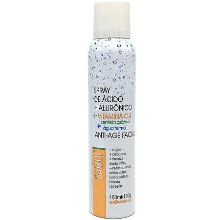 Spray Anti-Age Facial 150ml Samui - Vitamina C - Anti rugas e aumento de colágeno