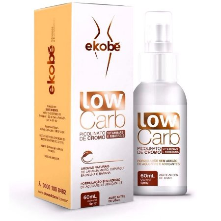 Low Carb Spray 60ml - Reduz  Vontade por Doces