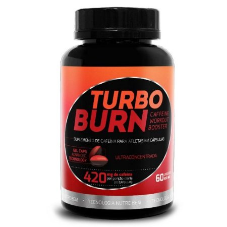 Turbo Burn 60 cáps - Termogênico