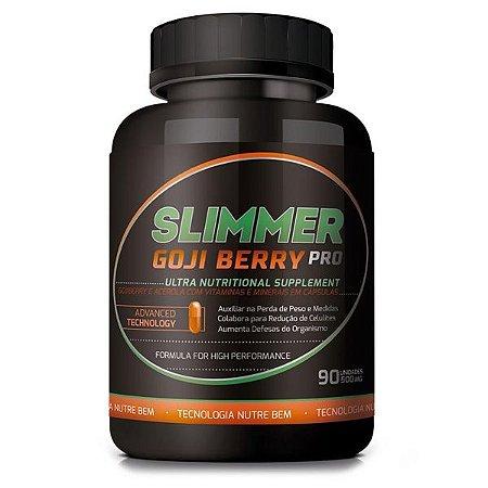 Slimmer Goji Berry Pro 60 cáps - Controla Compulsão por Doces