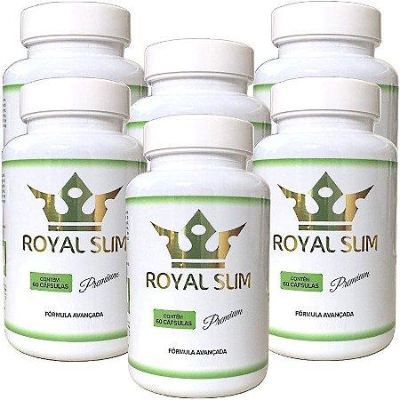 Kit Royal Slim 60 cáps - 6 unidades