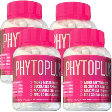 Phytoplus X 60 cáps - Kit 4 unidades