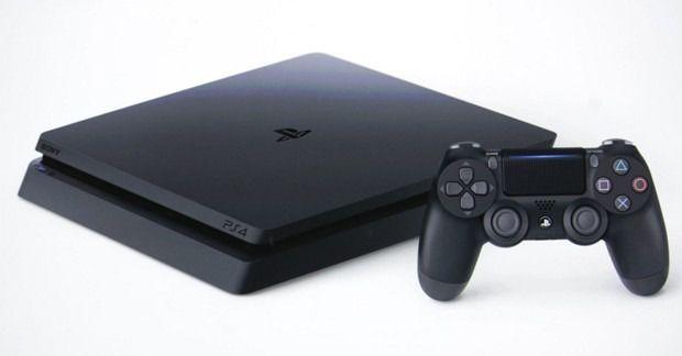 Playstation 4 Slin + 3 jogos originais