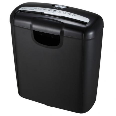 Fragmentadora Secreta 601 SB Cor disponível Preta com detalhes em prata  Abertura de inserção para papel 220 mm  Abertura para CD/DVD e Cartões de PVC 56 mm  Nº máximo de folhas (75g) 6 folhas  Tipo de fragmentação Tiras de 6 m