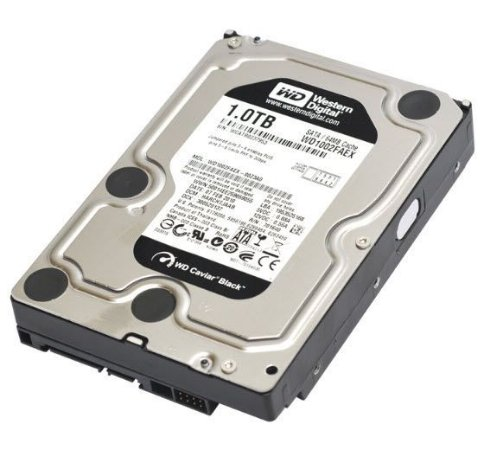 HDD WESTERN DIGITAL 1TB WD BLACK - WESTERN DIGITAL