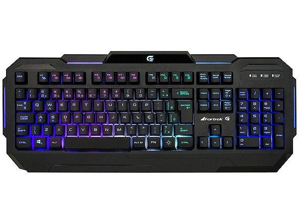 TECLADO GAMER FORTREK K1 RGB