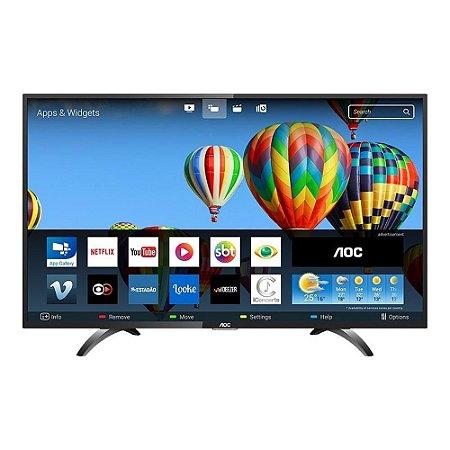 TV 32P AOC LED SMART WIFI HD USB HDMI LE32S5970S - AOC