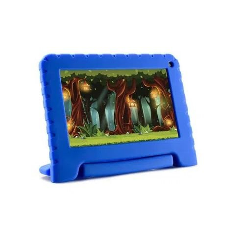 Tablet Kid Pad Lite Multilaser 7 Pol. 16GB Quad Core Android 8.1 Azul - NB302