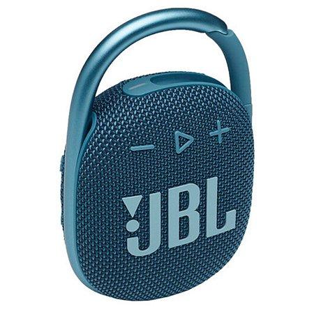 Caixa de Som Portátil JBL Clip 4 Bluetooth 5W À Prova D'água e Poeira IP67 Azul