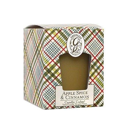 Vela Perfumada Greenleaf Apple Spice E Cinnamon