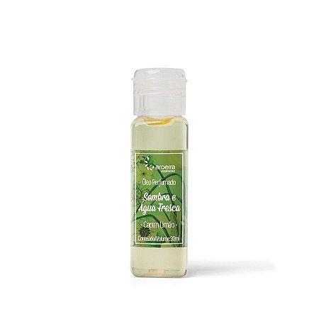 Óleo Perfumado Aroeira Essências - Sombra E Água Fresca - Capim Limão