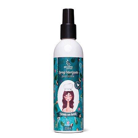 Spray Odorizante Aroeira Essências para cozinha - Castanha com Hortelã