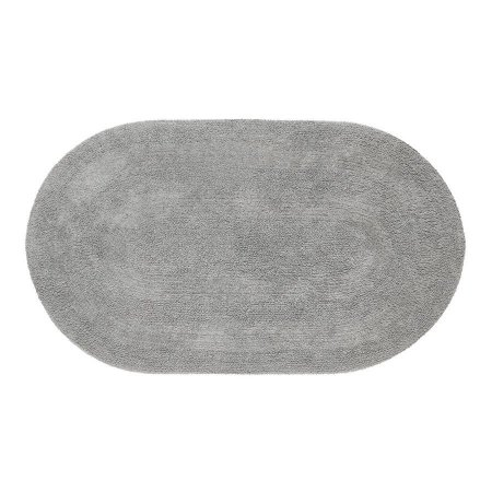 Tapete Aroeira Double - Gray 70X120cm Oval