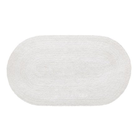 Tapete Aroeira Double - White 70X120cm Oval
