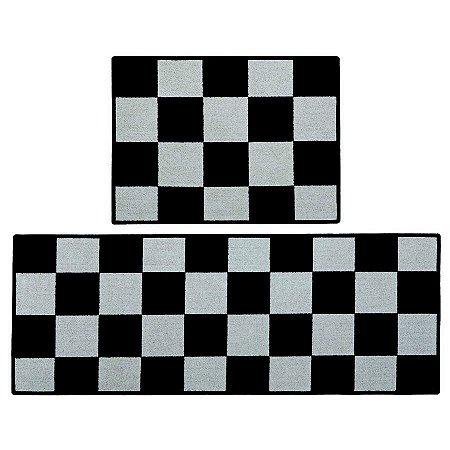 Tapete E Passadeira Day By Day Xadrez